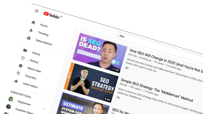 Make use of the video for seo