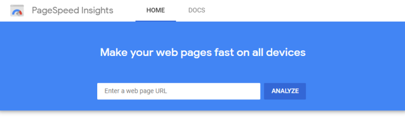 Image of PageSpeed Insight to Rank Higher on Google