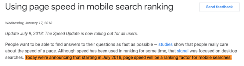 Google's Statement About Mobile-First Indexing