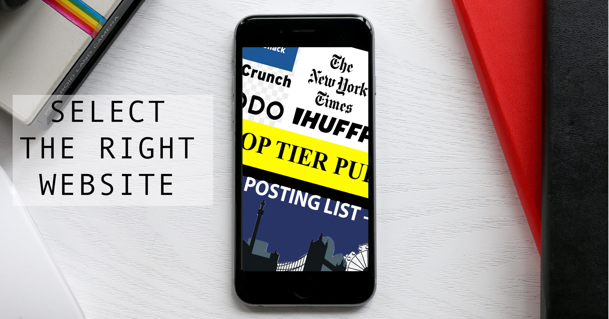 Select the right website for your guest post